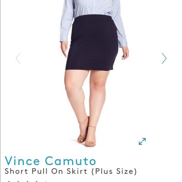 9038739b9 Vince Camuto Skirts | Nwt Short Pull On Skirt Plus Size | Poshmark